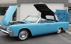 lincoln continental convertible late 1963 and 1964 automatic rear 1964 lincoln continental convertible