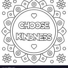 Beautiful Design Kindness Coloring Pages With Page Free Adult Book