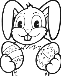 easter bunny colouring pages to print. Unique Bunny Easter Bunny Coloring Page Inside Bunny Colouring Pages To Print