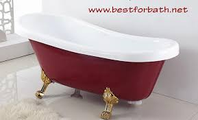 classic clawfoot tub w regal brass lion feet gold telephone style tub faucet