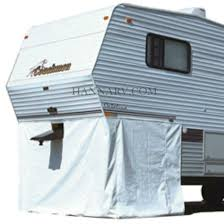 pollak th wheel and gooseneck trailer connector wiring adco 3501 5th wheel skirt rv cover polar white 64 inches height x 236 inches length
