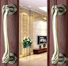 Brass Front Door Handlesets Col F Do Antique Brass Entry Door