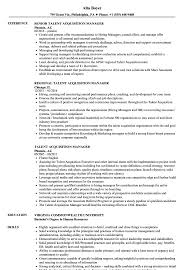 Talent Acquisition Manager Resume Example Talent Acquisition Manager Resume Samples Velvet Jobs 13