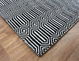 black and white geometric rug great modern for u k free delivery wallpaper pattern fabric cushion art bedding curtain colours harrietta gre