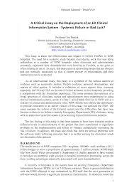 critical essay samples critical essay example under fontanacountryinn com