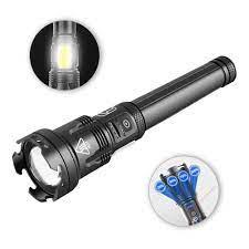 Đèn Pin Led Xhp110 Cob 3 Chế Độ Sáng 60000 Lumens Chống Thấm Nước chính  hãng 421,900đ