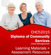 diploma of community services case management learning resources  chc52015 learning resources