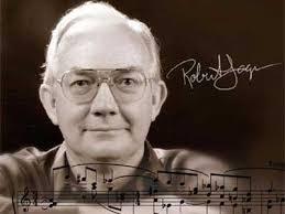 """En las notas al programa escritas por el compositor, Robert Jager dice: """"El tema es 'The Happy Farmer' (El granjero feliz), y las variaciones evolucionan ... - robertjager2"""