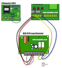 installing a uld 814 single loop detector to the cb11 control panel Control Loop Diagram at Loop Detector Wiring Diagram