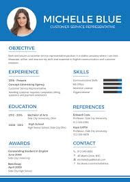 Resume Templates For Customer Service Representatives Adorable Customer Service Representative Resume 48 Free Sample Example