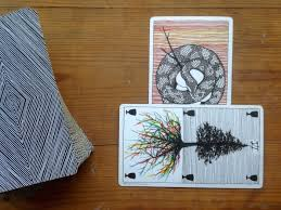 fool s journey the two card cross is the most useful tarot spread of all autostraddle