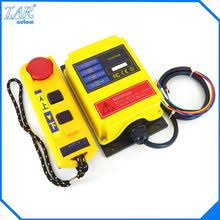 12 24vdc channel 1 speed 2 transmitters hoist crane truck radio remote control system with emergency stop