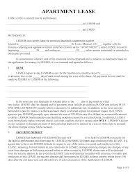 update apartment lease templates documents com apartment lease