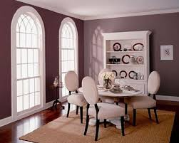 colors to paint a dining room. Warm Purple Paint Color Ideas For Dining Room With Round Table Colors To A