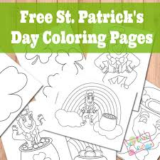 Small Picture St Patricks Day Coloring Pages Itsy Bitsy Fun