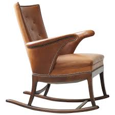 1930s rocking chair by frits henningsen