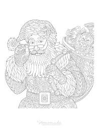 These christmas coloring pages are dedicated to adults. 100 Best Christmas Coloring Pages Free Printable Pdfs