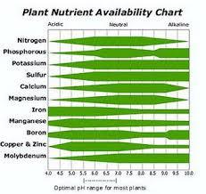 Plant Nutrient Availability Chart Download Scientific Diagram