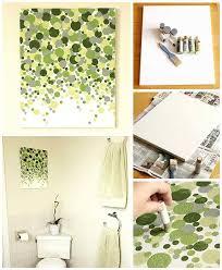 diy bathroom decor ideas for teens wall art best creative cool bath decorations