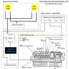 Headlights To Fog Light Relay Wiring Diagram Fog Light Wire Diagram