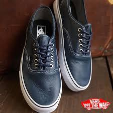 vans vans sneakers mens womens classics authentic authentic leather dress blues stripes
