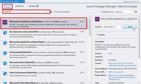 ASP.NET Core - Serving Static Files
