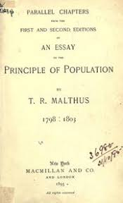 an essay on the principle of population as it affects the future parallel chapters from the first and second editions of an essay on the principle of population 1798 1803