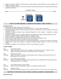 Design Engineer Resume Sample Basic Sample Resumes Breakupus