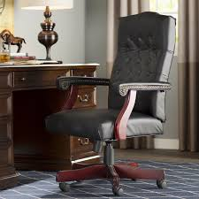 Inspiring High Back Leather Chair With Alcott Hill Kirkland Executive Reviews