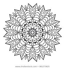 Mandala Design Coloring Pages Domlinkovinfo