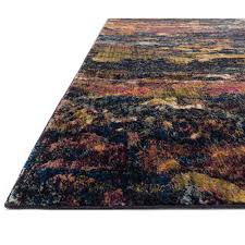 loloi dreamscape rug midnight  multi dm  contemporary area rugs