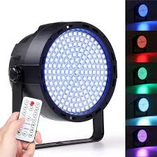 Disco Light Controller 169 Led Rgbw Stage 33w Effect Light Par Lamp Club Dj Party Disco Lighting With Remote Controller