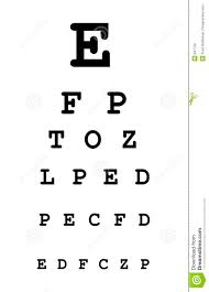 Image result for eye test chart