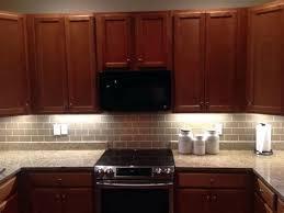 subway tile backsplash with cherry cabinets. Contemporary With Subway Tile Backsplash With Oak Cabinets Home Design Ideas Cherry U