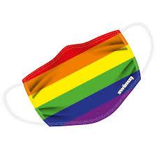 Bilder finden, die zum begriff regenbogen passen. Regenbogen Regenbogen Maske Alltagsmaske