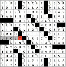 theme secret code 17a what the answers to the six starred clues follow as hinted at by 66 across 66 across next please for starred clues
