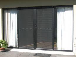sliding retractable screen door