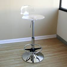 Acrylic Barstool Acrylic Bar Stools Home Design Inspiration