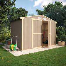 truman composite tongue and groove windowless garden shed 6x10 8x10 10x10 12x10