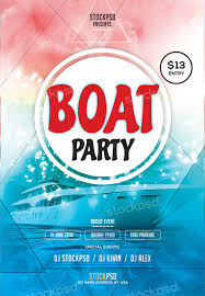 Free Flyer Template Download Free Boat Party Flyer Template 8degreetheme Com