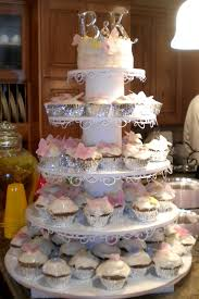 Cupcake Wedding Cake Stand Ideas