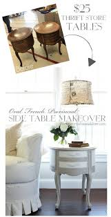 diy furniture makeover. Oval French Provincial Side Table Makeover From ConfessionsofaserialDIYer.com | DIY Furniture Pinterest Provincial, Paint And Diy