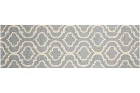 linear lin15 light blue runner rug