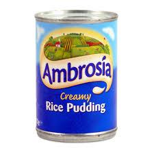 Ambrosia Creamed Rice Pudding 14oz 400g