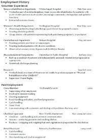 How Much Employment History On A Resume Www Hooperswar Com