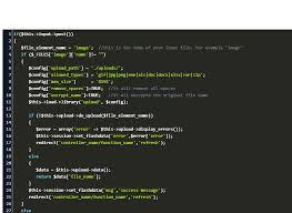 upload in codeigniter code exle