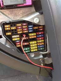 audi a fuse box location wiring diagrams online