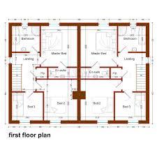 semi detached house designs uk design ideas floor plan exceptional