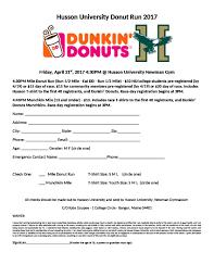 Husson University Donut Run 2017 Sub 5 Track Club