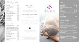 Treatments And Prices - Perfect Pampering At El Oceano Beauty Salon